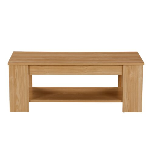Adrianne Lift Top Coffee Table Zipcode Design Colour: Oak