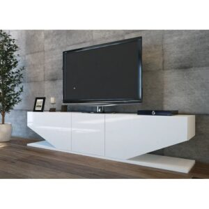 """Agarita TV Stand for TVs up to 78"""" Blue Elephant"""