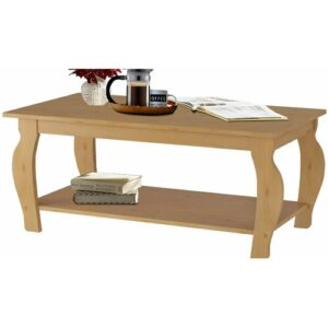 Alexio Coffee Table with Storage Brambly Cottage Colour: Brown