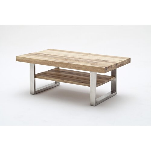 Alfie Coffee Table Ebern Designs Colour: Varnished wild oak