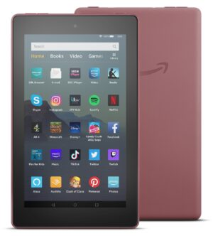 Amazon Fire 7 with Alexa 7 Inch 16GB Tablet - Plum