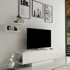 """Annabele TV Stand for TVs up to 58"""" Blue Elephant"""