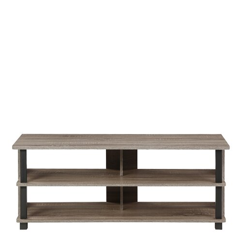 """Annandale TV Stand for TVs up to 43"""" Ebern Designs Colour: Grey/Black"""