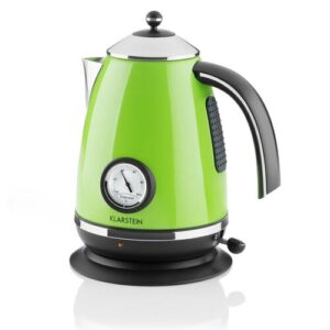 Aquavita Chalet 1.7 L Stainless Steel Electric Kettle Klarstein Colour: Green