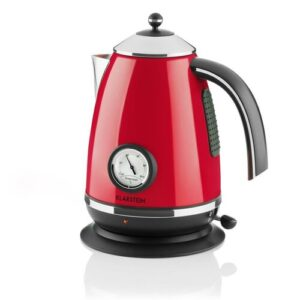 Aquavita Chalet 1.7 L Stainless Steel Electric Kettle Klarstein Colour: Red