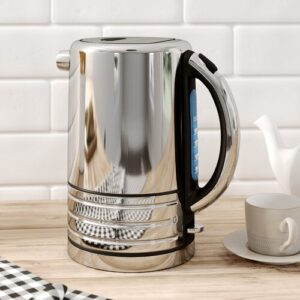 Architect 1.5L Electric Kettle Dualit Colour: Brushed Stainless Steel/Black