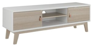 Argos Home Copenhagen 2 Door TV Unit - Two Tone