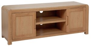 Argos Home Novara Large TV Unit - Oak Veneer