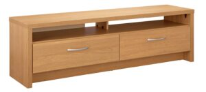 Argos Home Venice 2 Drawer Large TV Unit - Oak Effect