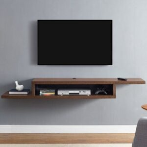 "Ascend TV Stand for TVs up to 57"" EU Martin Furniture Colour: Columbian Walnut"