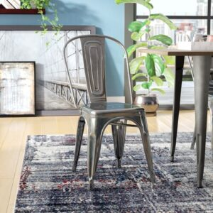 Ashlyn Dining Chair Blue Elephant