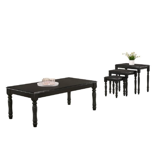 Astra Coffee Table Marlow Home Co. Colour: Black