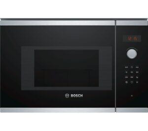 BOSCH BEL523MS0B Built-in Microwave with Grill - Stainless Steel, Stainless Steel