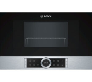 BOSCH BEL634GS1B Built-in Microwave with Grill - Stainless Steel, Stainless Steel