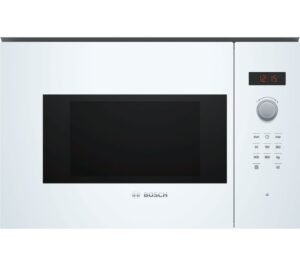 BOSCH Serie 4 BFL523MW0B Built-in Solo Microwave - White, White