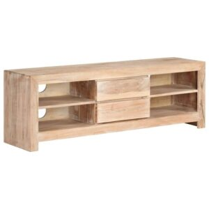 """Bagby TV Stand for TVs up to 50"""" Bloomsbury Market Colour: Light Brown"""