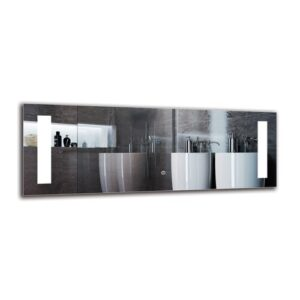 Baraboo Bathroom Mirror Metro Lane Size: 40cm H x 110cm W