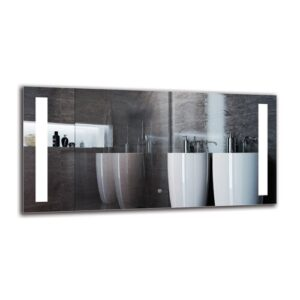 Baraboo Bathroom Mirror Metro Lane Size: 60cm H x 120cm W