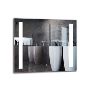 Baraboo Bathroom Mirror Metro Lane Size: 70cm H x 80cm W