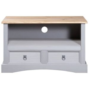 """Basnight TV Stand for TVs up to 40"""" Brambly Cottage Colour: Grey"""