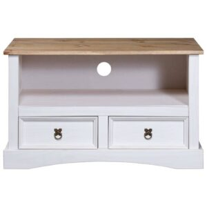 "Basnight TV Stand for TVs up to 40"" Brambly Cottage Colour: White"