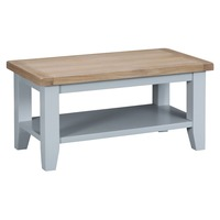 Bay & Co πpe; Holme Grey with Oak, Coffee Table