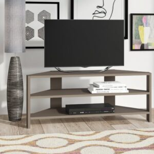 "Beene TV Stand for TVs up to 52"" Zipcode Design Colour: Light Mocha"