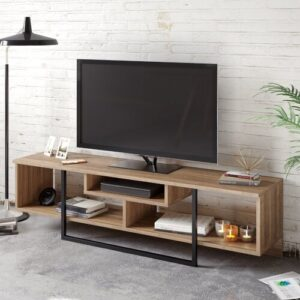 "Belora TV Stand for TVs up to 65"" Blue Elephant Colour: Walnut"