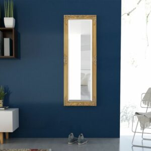 Blanche Full Length Mirror Marlow Home Co. Size: 100cm H x 50cm W, Finish: Gold