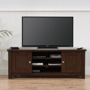 """Brownlow TV Stand for TVs up to 50"""" Ophelia & Co. Finish: Dark Oak"""