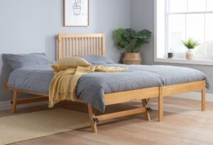 Buxton Pine Wooden Guest Bed Frame - 3ft Single