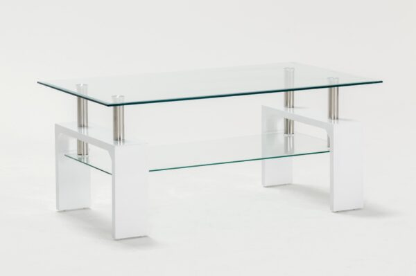 Calico White Coffee Table
