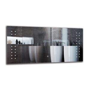 Casco Bathroom Mirror Metro Lane Size: 50cm H x 100cm W
