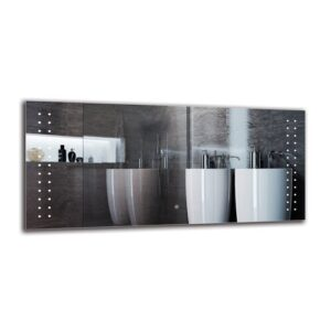 Casco Bathroom Mirror Metro Lane Size: 60cm H x 130cm W