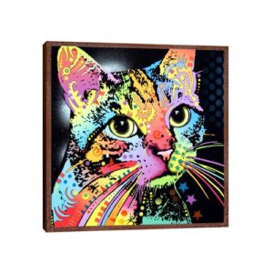 'Catillac New' by Dean Russo - Floater Frame Graphic Art Print on Canvas Ebern Designs