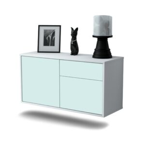 Caudille TV Stand Ebern Designs Colour: Light Blue