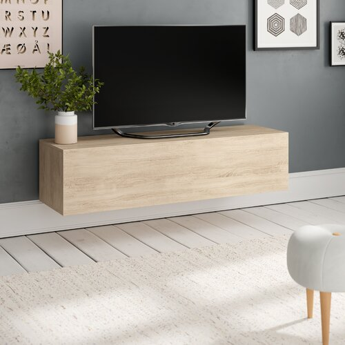 "Celrise TV Stand for TVs up to 55"" Selsey Living Colour: Sonoma Oak"