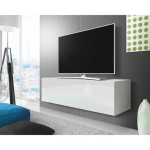"""Celrise TV Stand for TVs up to 55"""" Selsey Living Colour: White Matt /White Gloss"""