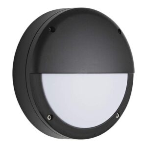 Champery Eyelid Round Bulkhead Security LED Outdoor Bulkhead Light Sol 72 Outdoor