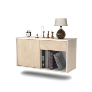 Chaumont TV Stand Ebern Designs Colour: Wheat