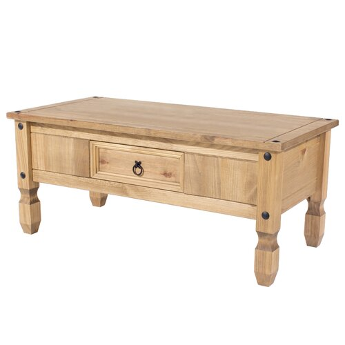 Choate Coffee Table with Storage Brambly Cottage Colour: Natural