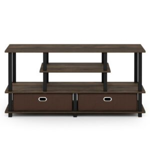 "Clemente TV Stand for TVs up to 50"" Zipcode Design Colour: Espresso"