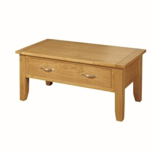 Coffee Table August Grove Base Finish: Light Oak