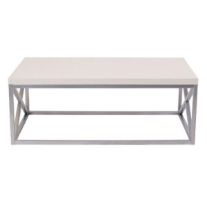 Coffee Table Blue Elephant Table Top Colour: Off-White
