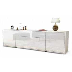 "Coombs TV Stand for TVs up to 42"" Ebern Designs Colour: High-gloss White / Matte White"