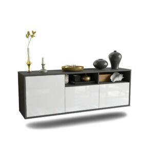 Cordale TV Stand Ebern Designs Colour: High Gloss White