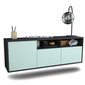 Cordale TV Stand Ebern Designs Colour: Light Blue