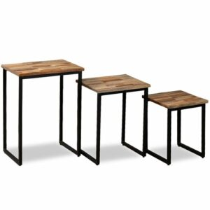 Craven 3 Piece Coffee Table Set Borough Wharf