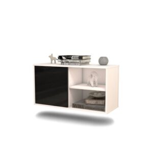 Dauphine TV Stand Ebern Designs Colour: Black
