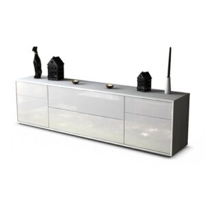 "Devos TV Stand for TVs up to 42"" Ebern Designs Colour: High-gloss White / Matte White"